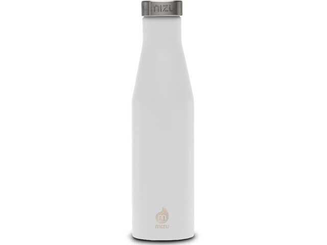 bd09eaccd8 MIZU S6 Bottle with Stainless Steel Cap 600ml white at Addnature.co.uk